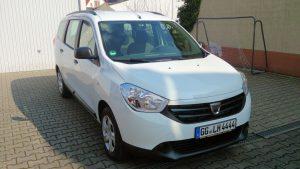 Dacia Lodgy der Lebenshilfe